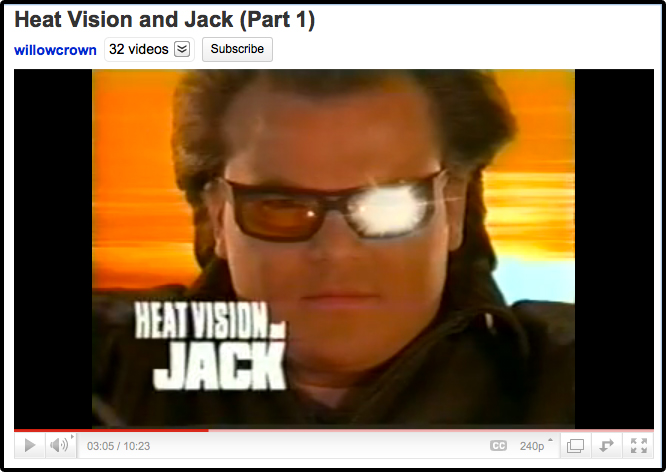 Jack Black, Heat Vision and Jack, Awesome Show