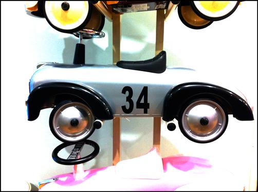 0421 Silver Car (Diesel Boy)