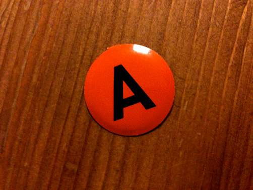 A is to B