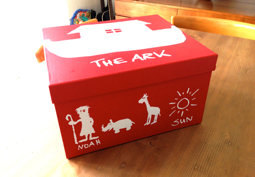 Red & White (Monty's Box)